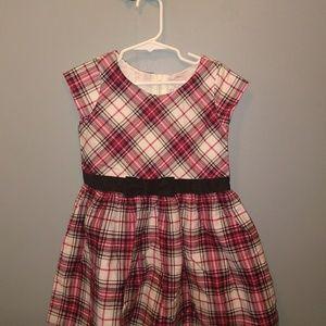 Girls plaid dress